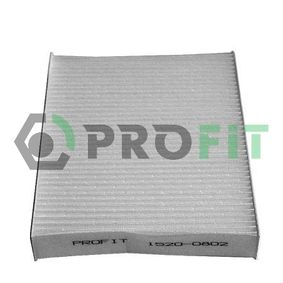 Filter, Innenraumluft 1520-0802 CLIO 2 (BB0/1/2, CB0/1/2) 1.5 dCi Bj 2002