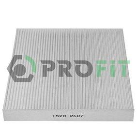 Filter, Innenraumluft mit OEM-Nummer GS1D 61 P11