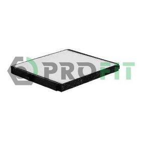 Filtro, aire habitáculo 1521-2101 Aveo / Kalos Hatchback (T250, T255) 1.4 ac 2013