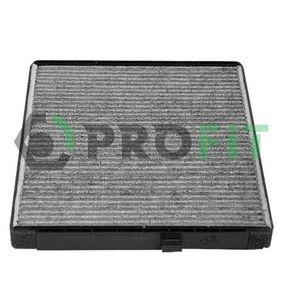 Filtro, aire habitáculo con OEM número EC 96 539 649
