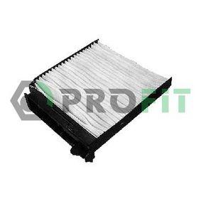 Filter, interior air 1521-2133 Note (E11, NE11) 1.5 dCi MY 2012