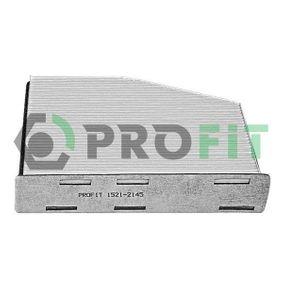 Филтър, въздух за вътрешно пространство 1521-2145 Golf 5 (1K1) 1.9 TDI Г.П. 2006