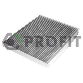 Filter, Innenraumluft mit OEM-Nummer 97133 2E260AT