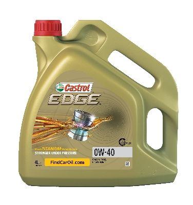 Aceite de motor CASTROL PorscheA40 conocimiento experto