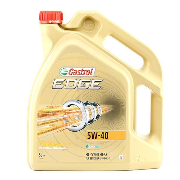 Aceite de motor CASTROL VW50500 conocimiento experto