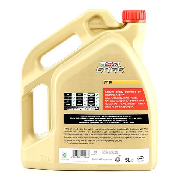 Olio motore CASTROL APIDieselCF 4008177025280
