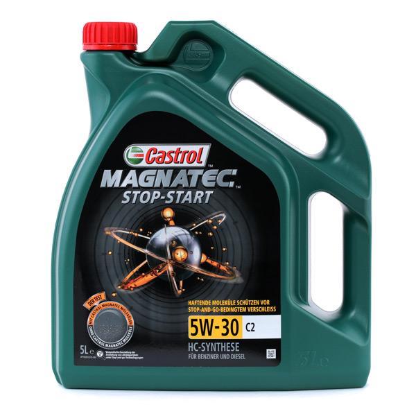 CASTROL motorolaj Magnatec, Stop-Start C2, 5W-30, 5l 1599DC