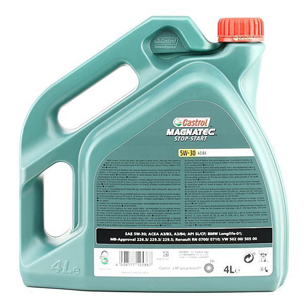 Aceite de motor CASTROL MB2295 0114008177125864