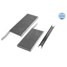 Filter, Innenraumluft Länge: 239mm, Breite: 108mm, Höhe: 20mm mit OEM-Nummer 95525119
