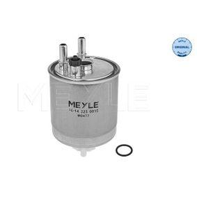 Kraftstofffilter 16-14 323 0015 TWINGO 2 (CN0) 1.5 dCi 90 Bj 2014