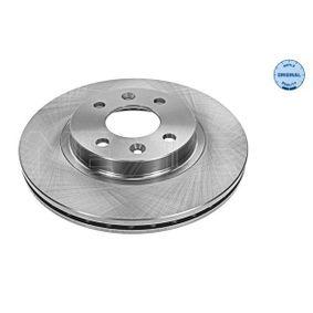 Bremsscheibe Bremsscheibendicke: 20,7mm, Lochanzahl: 4, Ø: 259mm mit OEM-Nummer 7701 205 653
