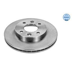 Bremsscheibe Bremsscheibendicke: 20,1mm, Lochanzahl: 4, Ø: 238mm mit OEM-Nummer 77 01 204 286
