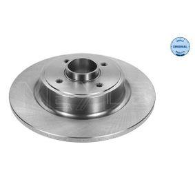 Bremsscheibe Bremsscheibendicke: 10,9mm, Lochanzahl: 4, Ø: 274mm mit OEM-Nummer 86 60 001 815