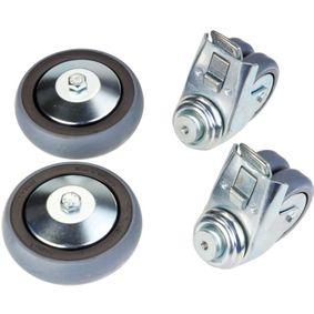 HAZET Jogo de roletes, carros de ferramentas 160-0119