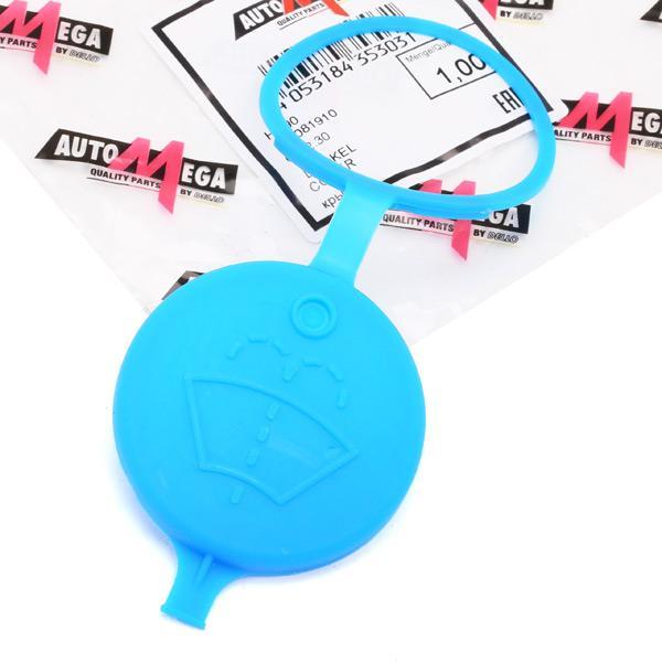 Sealing Cap, washer fluid tank 160081910 AUTOMEGA 306432030 original quality