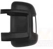 Carcasa de retrovisor VAN WEZEL 9062224 izquierda, negro, rugoso
