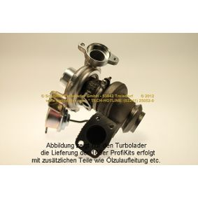 SCHLÜTTER TURBOLADER Turbocompresor, sobrealimentación 166-05132 con OEM número 3M5Q6K682DE
