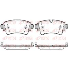 Brake Pad Set, disc brake Article № 1669.08 £ 140,00