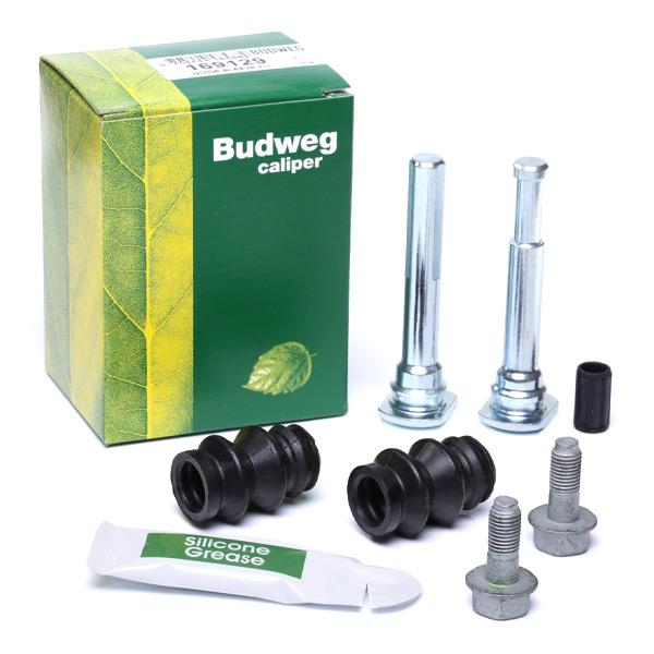 Guide Sleeve Kit, brake caliper BUDWEG CALIPER 169129 expert knowledge