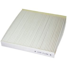Filter, Innenraumluft Länge: 197mm, Breite: 214mm, Höhe: 25mm mit OEM-Nummer GS1D61P11