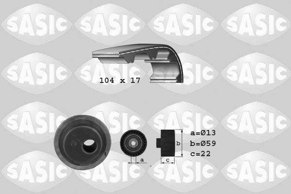 SASIC  1750022 Zahnriemensatz
