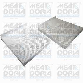 Filter, Innenraumluft Länge: 245mm, Breite: 206mm, Höhe: 30mm mit OEM-Nummer 64119163329