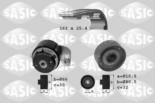 SASIC  1754007 Zahnriemensatz