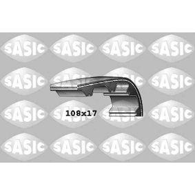 Zahnriemen Breite: 17mm mit OEM-Nummer 0816.44