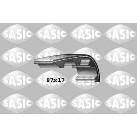 Zahnriemen Breite: 17mm mit OEM-Nummer 7700 106 241
