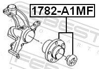 Radlager & Radlagersatz FEBEST 1782-A1MF Bewertung
