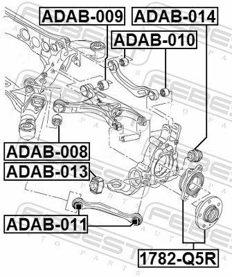 Radlager & Radlagersatz FEBEST 1782-Q5R Bewertung