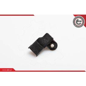 Sensor, pressão colector de admissão Tensão: 12V, Número de pólos: 4pólos com códigos OEM 91.58.595