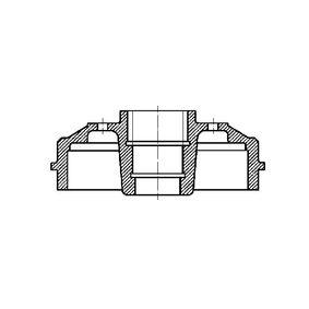 Bremstrommel Trommel-Ø: 203,3mm mit OEM-Nummer 7700818346