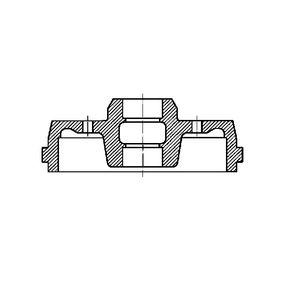 Bremstrommel Trommel-Ø: 180,0mm mit OEM-Nummer 3055016151