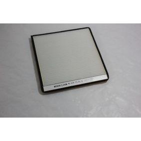 Filter, Innenraumluft Breite: 199mm, Höhe: 19,5mm mit OEM-Nummer 6447Z4