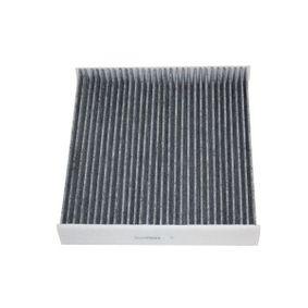 Filter, Innenraumluft Breite: 224mm, Höhe: 35,5mm mit OEM-Nummer 6R0819653
