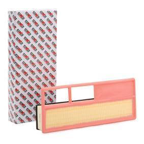Filtro aria Lunghezza: 377,0mm, Largh.: 148,0mm, Alt.: 64,0mm, Lunghezza: 377,0mm con OEM Numero 55 193 849