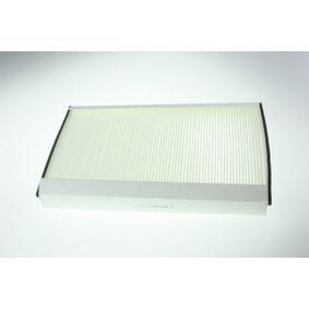 Filter, Innenraumluft Breite: 234mm, Höhe: 35mm mit OEM-Nummer A906 830 02 18