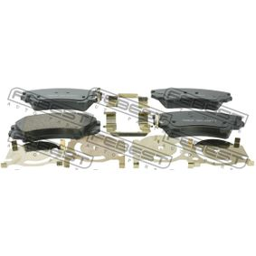 Brake Pad Set, disc brake Width: 142mm, Thickness: 17,8mm with OEM Number 95514526