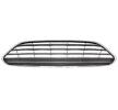 VAN WEZEL Front grill FORD Bumper, Chrome, Chrome / Black, Upper section