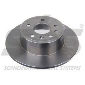 Bremsscheibe Bremsscheibendicke: 10,00mm, Felge: 5,00-loch, Ø: 286mm mit OEM-Nummer 93182293