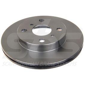 Disque de frein Epaisseur du disque de frein: 18,00mm, Jante: 4,00Trou, Ø: 238mm avec OEM numéro 43512-16130
