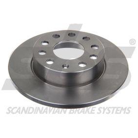 Bremsscheibe Bremsscheibendicke: 12mm, Felge: 5-loch, Ø: 256mm mit OEM-Nummer 8P0 098 601 N