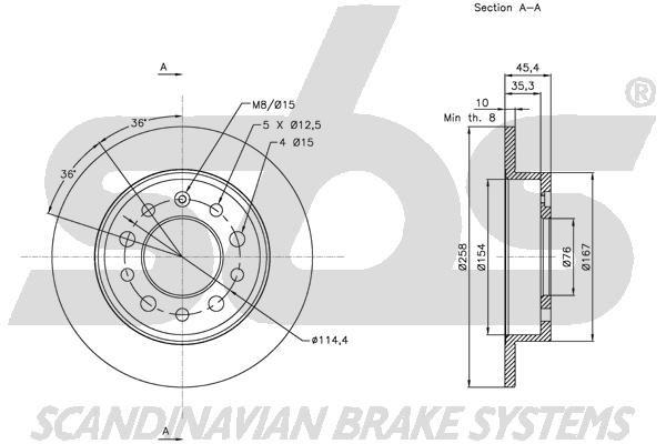 Disc Brakes sbs 1815313426 expert knowledge