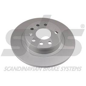 Bremsscheibe Bremsscheibendicke: 10,00mm, Felge: 5,00-loch, Ø: 278mm mit OEM-Nummer 93184247