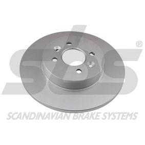 Bremsscheibe Bremsscheibendicke: 12,00mm, Felge: 4,00-loch, Ø: 280mm mit OEM-Nummer 7701207227