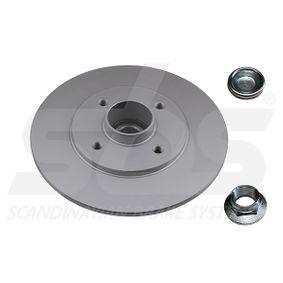 Bremsscheibe Bremsscheibendicke: 8,00mm, Felge: 4,00-loch, Ø: 238mm mit OEM-Nummer 77 01 204 302