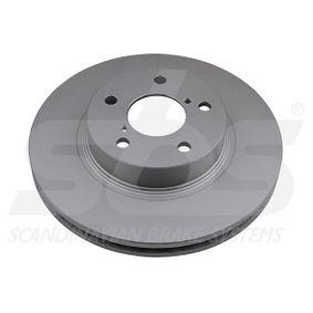 Bremsscheibe Bremsscheibendicke: 24,00mm, Felge: 5,00-loch, Ø: 260mm mit OEM-Nummer 26300 AE040