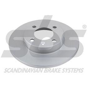 Bremsscheibe Bremsscheibendicke: 10,00mm, Felge: 4,00-loch, Ø: 239mm mit OEM-Nummer 823615301