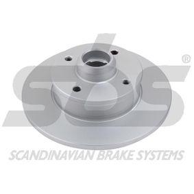 Bremsscheibe Bremsscheibendicke: 10mm, Felge: 4-loch, Ø: 226mm mit OEM-Nummer 357615601